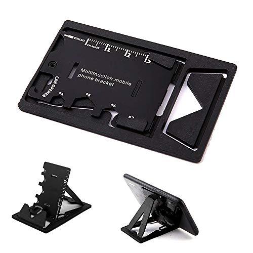 Outil multifonction/porte-clés/décapsuleur de la taille d'une carte de crédit, élégant et minimaliste, en acier inoxydable