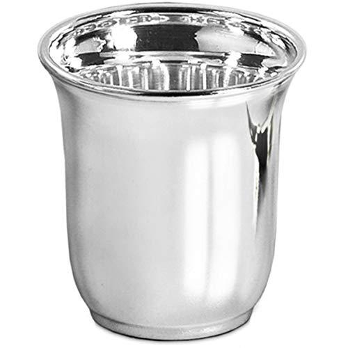 silberkanne Becher Silberbecher Trinkbecher Cocktailbecher Cona H 8 cm Silber Plated Premium versilbert
