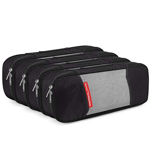 Packing Cube 4 stück, Gonex Schmale Kleidertaschen