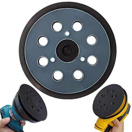 5' Hook & Loop Replacement Sander Pad for DeWalt & Makita - Fit DW420/K, DW421/K, DW422/K, DW423/K, DW426/K, D26450, D26451/K, D26453/K, D26456, Makita BO5010/K, BO5030/K, BO5031/K, BO5041/K