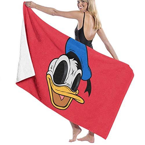 Donald Duck Creep Secado rápido Altamente Absorbente Uso Multiusos Toallas de baño Toallas de Playa Toallas de Piscina 31 'X 51' para Mujeres Hombres