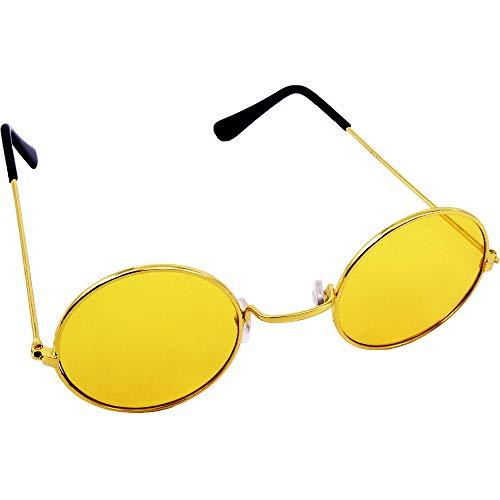 German Trendseller® 1x Gafas John Lennon - Amarillo