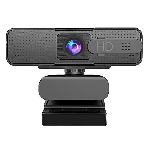AutoFOCUS Webcam 1080P HD Cámara USB para Computadora PC Cámara Web con Micrófono Webcamera HD Video JNSXT (Color : H701)