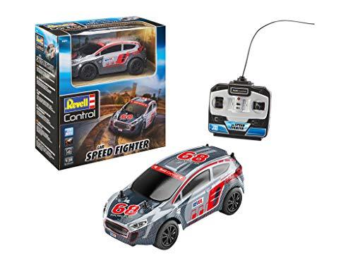 Revell Control- RC Rallye Car Speed Fighter Veicolo telecomandato, Colore Silver, 24471