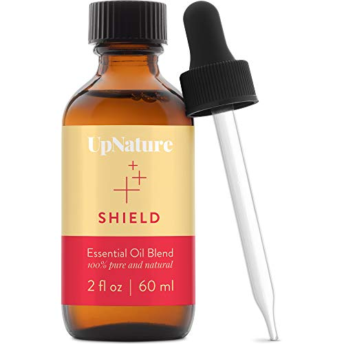 Shield Essential Oil 2oz - Thief & Robbers Germ Fighter Protective Blend, Keep Your Immunity On Guard with Clove Oil & Cinnamon Essential Oil Therapeutic Grade