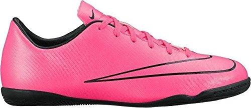 Nike Unisex-Kinder Junior Mercurial Victory V IC Fußballschuhe, Pink (Hyper Pink/Hyper Pink-Blk-Blk), 35.5 EU