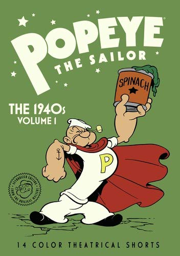 Popeye The Sailor: The 1940s Volume 1