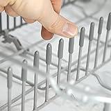 Plemont® [Lot de 150] Capuchon du lave-vaisselle pour protéger les broches, Accessoires lave-vaisselle « Fabriqués en Allemagne » adaptables à tout panier lave vaisselle universel