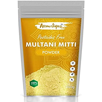 Aromatique Multani Mitti Powder For Face,Hair And Skin -250 gms- Fuller Earth