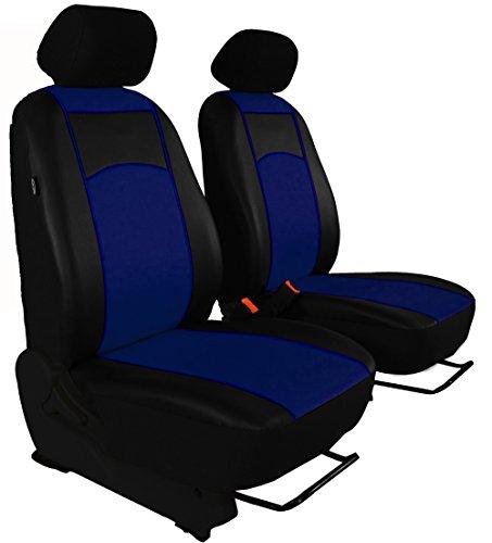 Sitzbezug maß Bus 1 + 1 Sitzer Kunstleder 7 Farben für T5