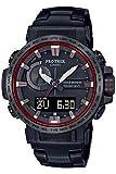 [カシオ] 腕時計 プロトレック クライマーライン 電波ソーラー PRW-60YT-1JF メンズ ブラック