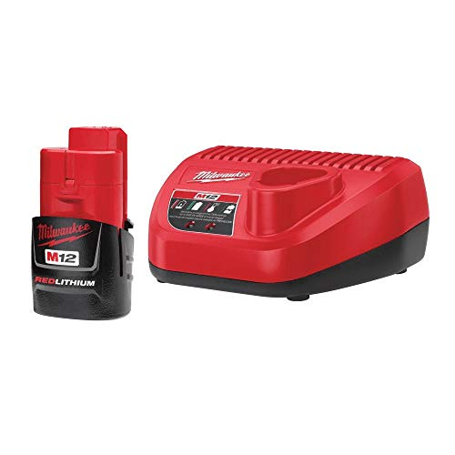 Milwaukee 48-59-2411 M12 Lithium-Ion Battery with Charger