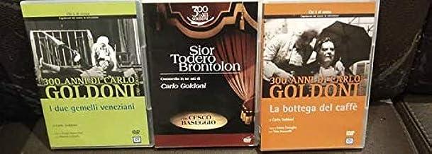 Goldoni collection - Sior Todero brontolon - La bottega del caffè - I due gemelli veneziani