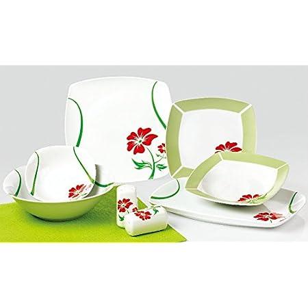 Topkapi Angela TK-982 - Service de table 28 pièces, pour 6 personnes