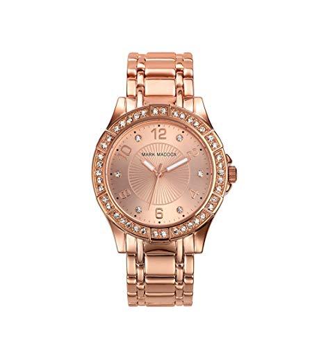 Mark Maddox Rosa Oro Mujer Reloj Rosã © Dorado MM0004–99