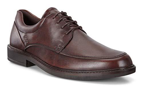 ECCO Men's Holton Apron Toe Tie Oxford, Cocoa Brown, 43 M EU (9-9.5 US)
