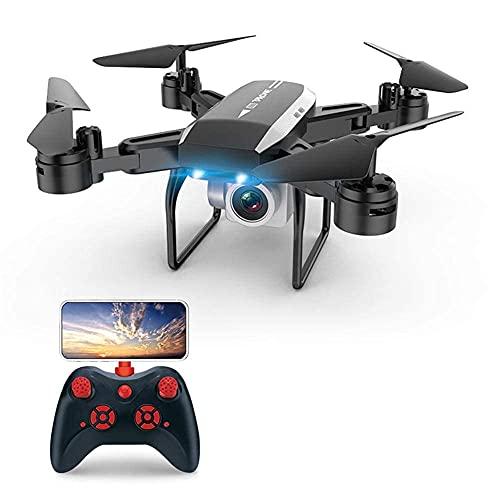 FMHCTN Fotocamera Drone, KY606D Drone con Fotocamera Video in Tempo Reale 4k Fotografia Aerea ad Alta Definizione 1080p Aereo a Quattro Assi