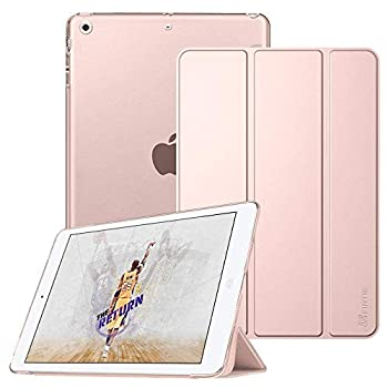 Fintie Case for iPad Mini 3/2 / 1 - Lightweight Smart Slim Shell Translucent Frosted Back Cover Protector Supports Auto Wake/Sleep for iPad Mini 1 / Mini 2 / Mini 3 Rose Gold