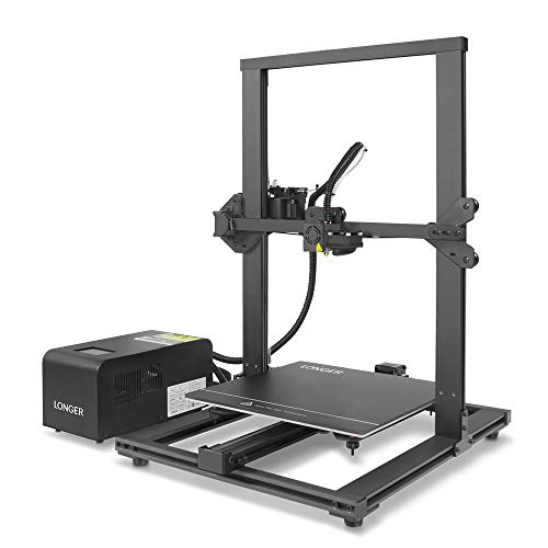 LONGER LK1 90% Pre-Assembled 3D Printer with Large Build Size 300x300x400mm, Full Touch Screen,...