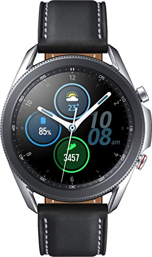 Samsung Galaxy Watch3 Watch 3 (GPS, Bluetooth, LTE) Smart Watch with Advanced Health Monitoring, Fitness Tracking, and Long Lasting Battery (Silver, 41MM) (Renewed)