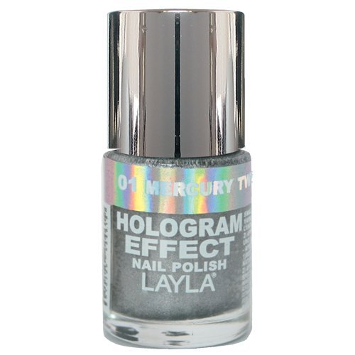 Layla Cosmetics Hologram Effect Nagellack - mercury twilight, 1er pack (1 x 0.01 l)