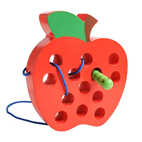 Wooden Apple Puzzle