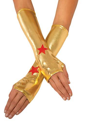 Rubie's Handschuhe DC Wonder Woman für Erwachsene, Lange Handschuhe – offizielles Produkt