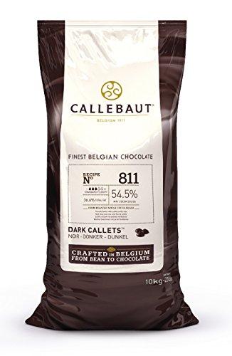 Callebaut 54 % di cioccolato fondente chip ( Callets ) 10kg