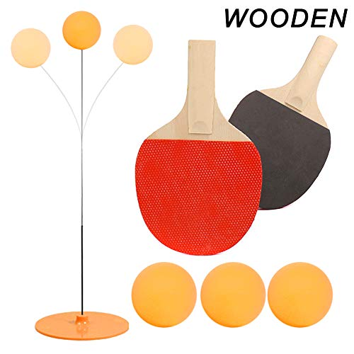 Purchase Dvluck Elastic Soft Shaft Table Tennis Pingpong Trainer Sport Toy Training Kit for Home