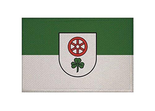 U24 Aufnäher Cleebronn Fahne Flagge Aufbügler Patch 9 x 6 cm