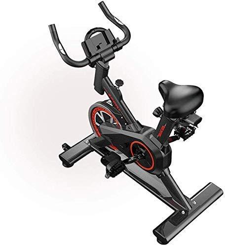 Drohneks Bicicleta de Ciclismo Indoor con transmisión por Correa con Resistencia magnética Bicicletas estáticas Bicicleta estacionaria