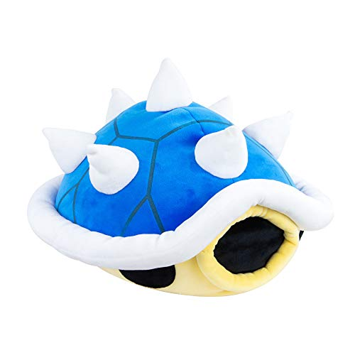 Club Mocchi Mocchi Nintendo Mario Kart Mega Blue Shell Plush Stuffed Toy