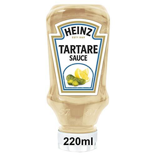 Heinz Tartare Sauce, French Style, Kopfsteherflasche, 8er Pack (8 x 220 ml)
