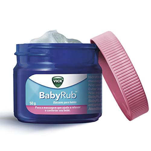 Vick BabyRub Bálsamo Para Bebês 50g, Vick
