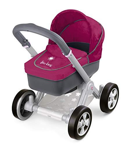 Silver Line- Carrito de paseo para muñeco Bebé, Color rojo (Famosa 800008881)