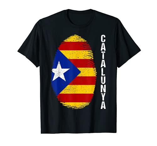 Estelada Blava Flagge Katalonien Barcelona Fahne Spanien T-Shirt