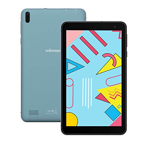tablet gps Tablet 7-Pollici Android 9.0 WiFi - Winnovo 2GB RAM 32GB ROM Quad Core MT8163 IPS Display Bluetooth 4.0 Dual Camera GPS FM Certificato Google(Blu)