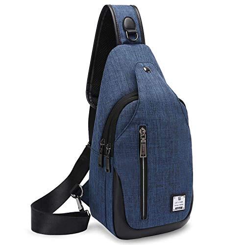 Bag Chest Shoulder Backpack Crossbody Bags for Men Women Travel Outdoors Business
