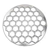 NaiCasy 37 Orificios de moldeo de Masa hervida Fabricante de Herramientas del Molde de Masa hervida Ravioli de Aluminio...