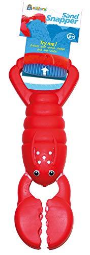 Alldoro Sand Snapper Sandspielzeug, tierischer Handbagger im farbenfrohen Krabben-Design, sortiert in 3 Farben, ideal für den Sandkasten oder den Strand