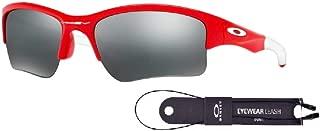 Oakley Quarter Jacket OO9200 Sunglasses For Juniors+BUNDLE with Oakley Accessory Leash Kit
