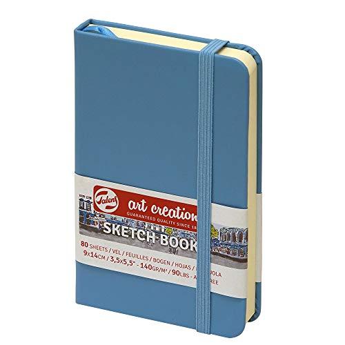 Sketchbook Royal Talens Art Creation - Cuaderno de bocetos (80 hojas, 140 g/m², 9 x 14 cm), color azul
