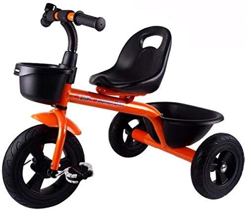 Bicicletas del Caballo de oscilación del niño del Triciclo triciclos Bicicletas NIÑO de los niños al Aire Libre de la Bici del bebé Cubierta Triciclo Niños 1-3-6 años Caja de Almacenamiento