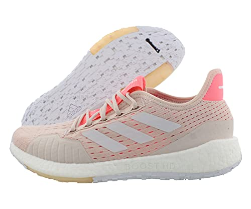 adidas Women's Pulseboost HD Summer Ready Running Shoe, Echo Pink/White/Light Red, 5 M US
