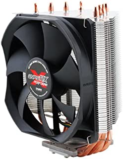 Zalman CNPS11X Performa Procesador Enfriador - Ventilador de PC (Procesador, Enfriador, Socket AM2, Socket AM3, Socket AM3+, Socket FM1, 26 dB, Pentium 4, Celeron D, Pentium D, Core 2 Duo, Core 2 Quad, Core 2 Extreme, Pentium Dual Core, Core..., Negro, Plata)