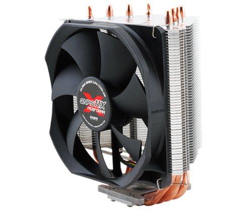 Zalman CNPS11X Performa Procesador Enfriador - Ventilador de PC (Procesador, Enfriador, Socket AM2, Socket AM3, Socket AM3+, Socket FM1, 26 dB, Pentium 4, Celeron D, Pentium D, Core 2 Duo, Core 2 Quad