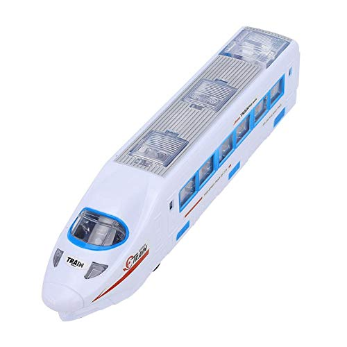 Rueda universal eléctrica Modelo de riel de alta velocidad Interesante juguete de tren de alta velocidad, Juguete de riel de alta velocidad, Ventana transparente(High-speed rail model toys)