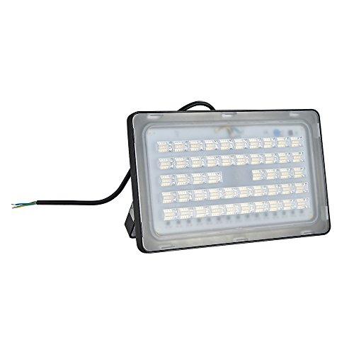 TEquem Warmweiß LED Strahler 10W 20W 30W 50W 100W 150W 200W 300W 500W LED Wandstrahler Lampe Außenstrahler Aluminium Flutlicht Fluter 220V IP65 … (1 Stück, 150W-NEW)