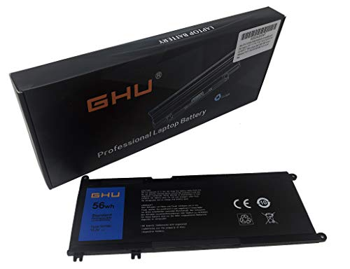New GHU 33YDH 56Wh Compatible with Dell Inspiron 7577 17 7773 7778 7779 G3 3579 3779 G5 5587 G7 7588 Latitude 3490 3590 3580 Series Notebook PVHT1 DNCWSCB6106B 15.2V 4-Cell