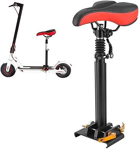 SHZICMY Juego de sillín para scooter eléctrica y asiento plegable para Xiaomi M365, 40-60 cm, altura ajustable